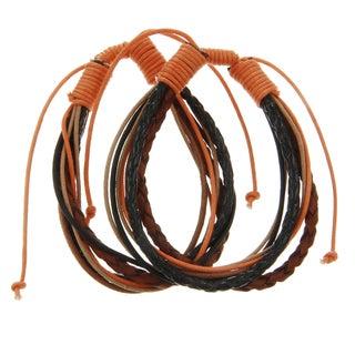 Harvest Leather Bracelet Set of 2 (India)