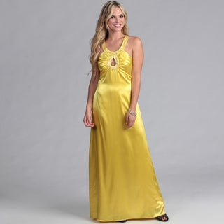 Institute Liberal Women's Yellow Formal Maxi Dress