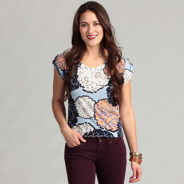 Institute Liberal Women's Flower Print Top