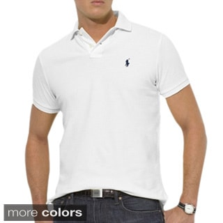 Ralph Lauren Men's Custom-Fit Mesh Polo