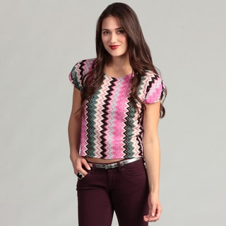 Institute Liberal Women's Asymmetrical Zig Zag Top