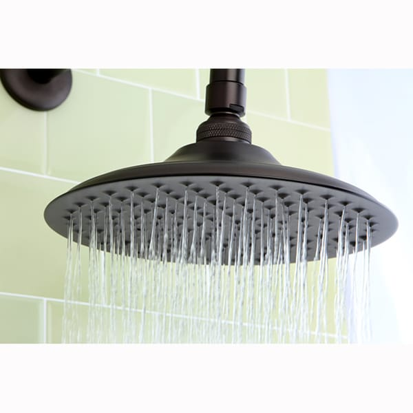 Victorian Oil Rubbed Bronze 8-inch Shower Head