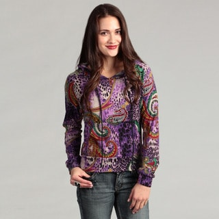 Institute Liberal Women's Pull Over Printed Hoodie