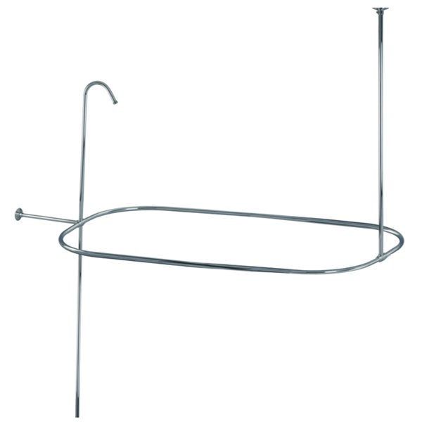 Shower Curtain Rod/ Shower Riser Set