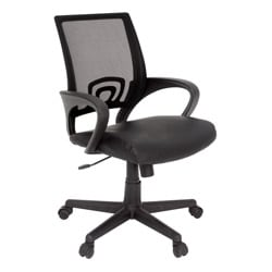 Regency Seating Curve Leather Swivel Office Chair