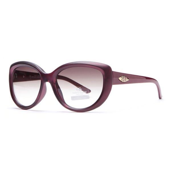 Anais Gvani Smooth Round Classic Fashion Sunglasses