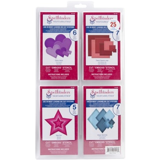 Spellbinders Nestabilities Die Set-Shapes A