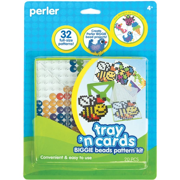 Perler Fun Fusion Biggie Bead Activity Kit- 9665699