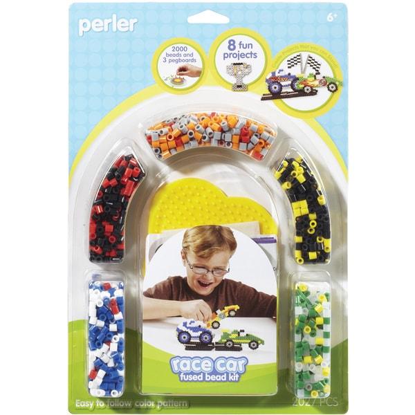 Perler Fun Fusion Fuse Bead Activity Kit-Race Car