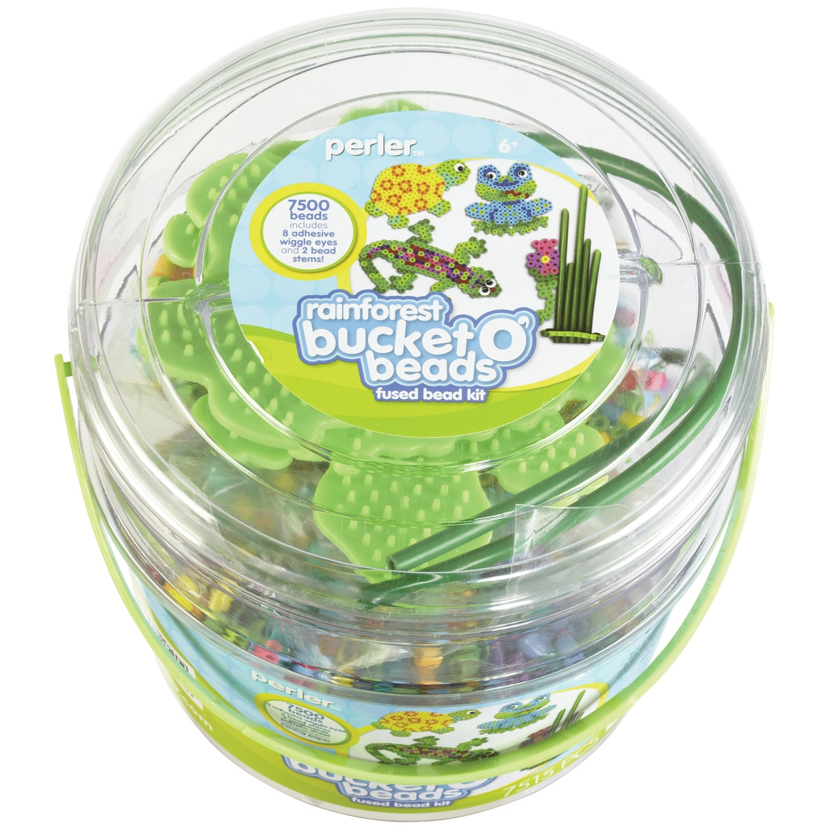 Perler Fun Fusion Fuse Bead Activity Bucket-Rainforest at Sears.com