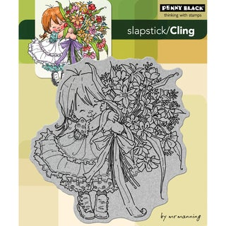 Penny Black 'Thanks A Bunch' Cling Rubber Stamp