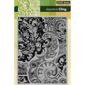 Penny Black 'Damask' Cling Rubber Stamp