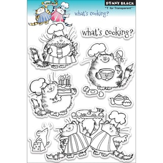 Penny Black 'What's Cooking?' Clear Stamps