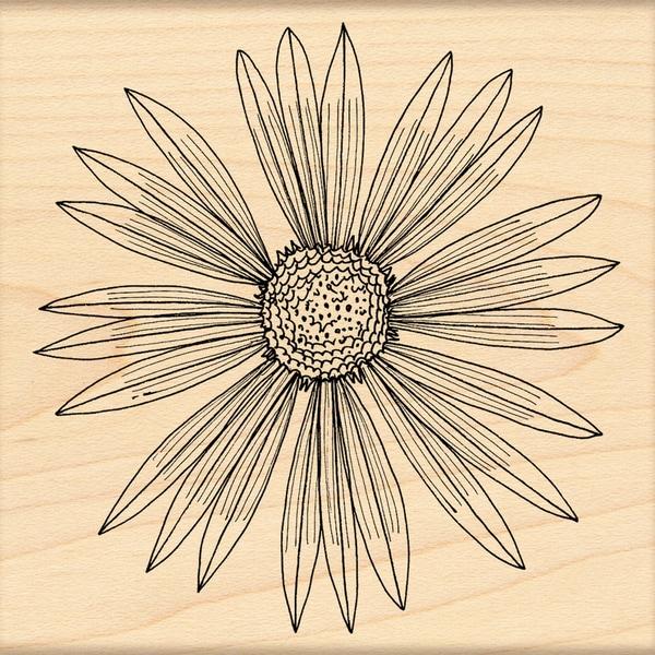 Penny Black 'Sunburst' Rubber Stamp