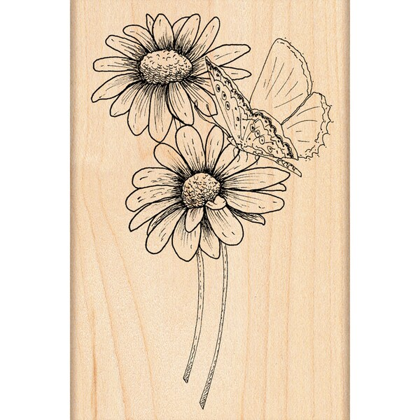 Penny Black 'Butterfly Kiss' Rubber Stamp