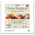 "Home Elegance Pillow 26""X26""-White FOB:MI"