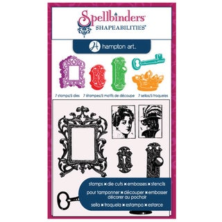 Spellbinders Stamp & Die Set-Cling - Royal Affair