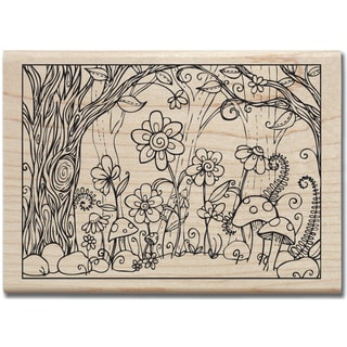 Mounted Rubber Stamp 3.25