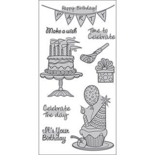 Outlines Cling Stamps 4