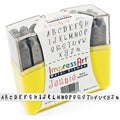 Uppercase Stamp Set 4mm-Jeanie