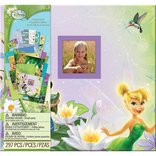 "Disney Tinkerbell Scrapbook Kit 12""X12""-"