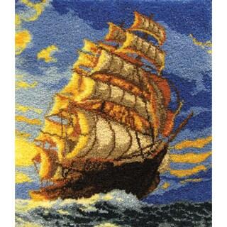 Latch Hook Kit -Clipper Ship