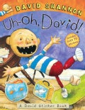 Uh-Oh, David!: A David Sticker Book (Paperback)