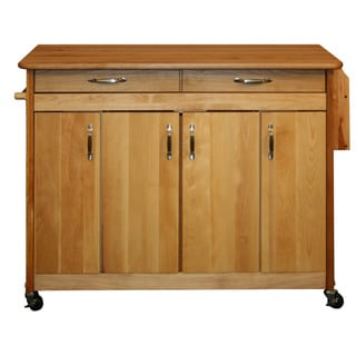 Catskill Craftsman Butcher Block Oil-Finished Kitchen Island