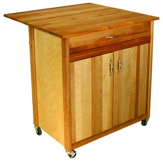 Catskill Craftsman Mid-Size Two Door Drop Leaf Cart