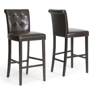 Baxton Studio Torrington Modern Bar Stools (Set of 2)