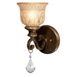 Norwalk 1-light Bronze Umber Wall Sconce