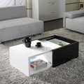 Matrix &#39;Karla&#39; High-gloss Hide-away Storage Coffee Table