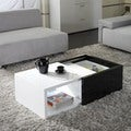 Matrix 'Karla' High-gloss Hide-away Storage Coffee Table