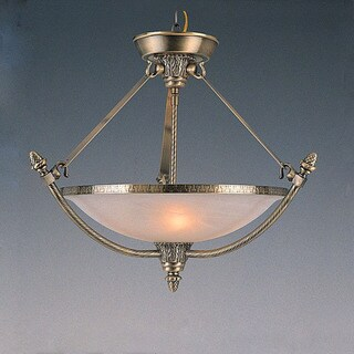 Transitional 5-light Pendant/Semi-flush