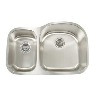 Artisan Premium Series Undermount Shallow/ Deep Double Bowl Kitchen Sink
