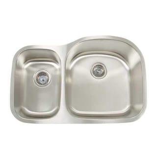 Shallow Undermount Sink : ... Premium Series Undermount Shallow/ Deep Double Bowl Kitchen Sink