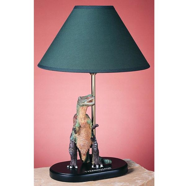 Cal Lighting Tyrannosaurus Dinosaur Table Lamp