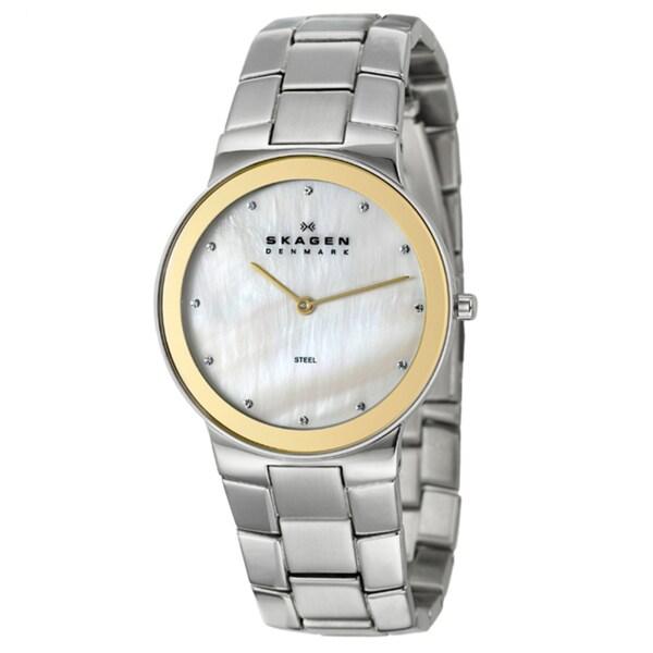 Skagen Men's 'Classic' Stainless Steel Watch