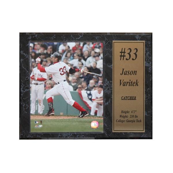 Boston Red Sox Jason Varitek Stat Plaque