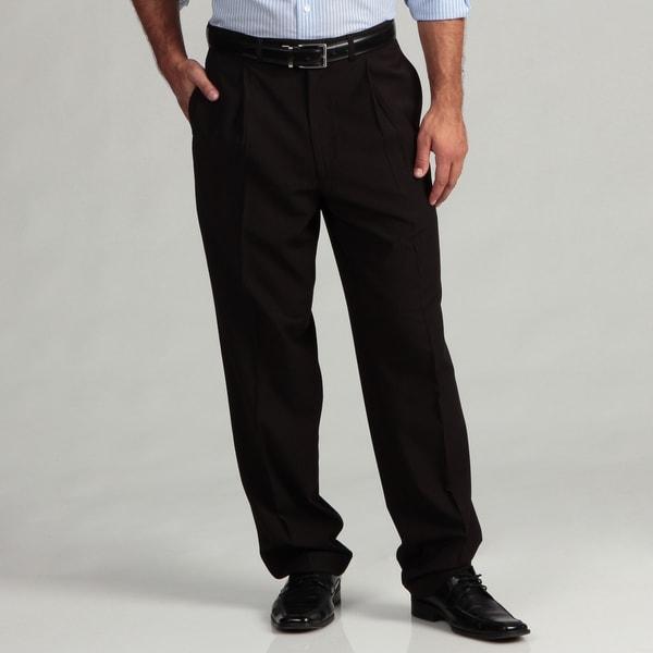 Geoffrey Beene Men's Black Thin Stripe Suit Separate Pants