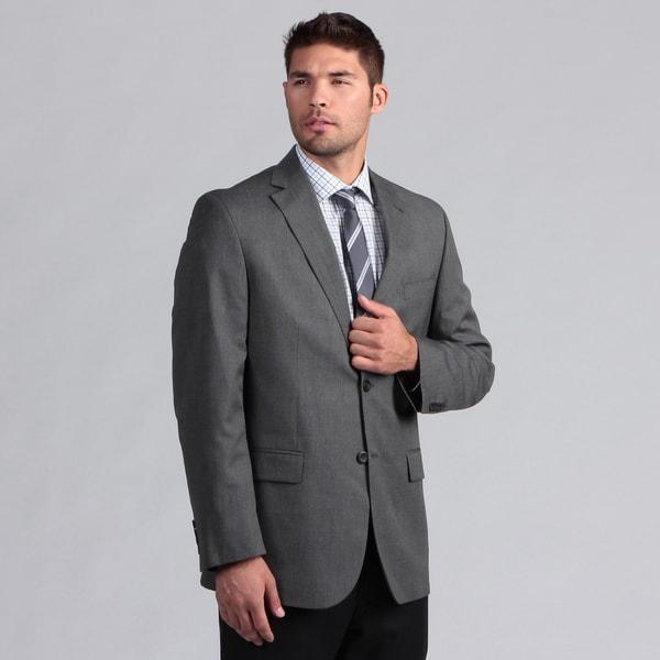 Geoffrey Beene Men's Black/White Pindot Suit Separate Coat
