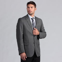 Geoffrey Beene Men's Black/White Pindot Suit Separate Coat