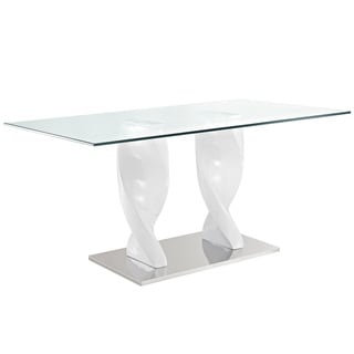 Ice Quarry White Dining Table