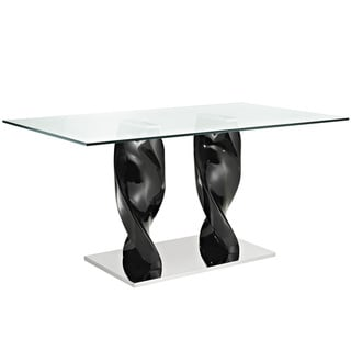 Ice Quarry Black Dining Table