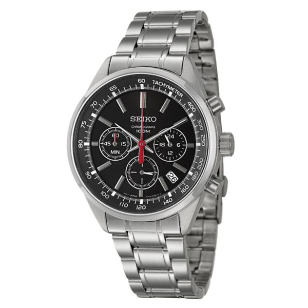 Seiko Men's 'Chronograph' Stainless Steel Watch