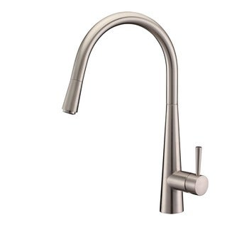 Ruvati Brushed Nickel Pullout Spray Kitchen Faucet Brushed Nickel