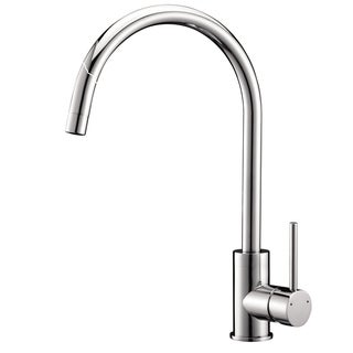 Ruvati Polished Chrome Single Handle Kitchen Faucet