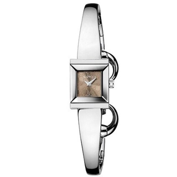 Gucci Women's G-Frame Stainless Steel Watch -  YA128510
