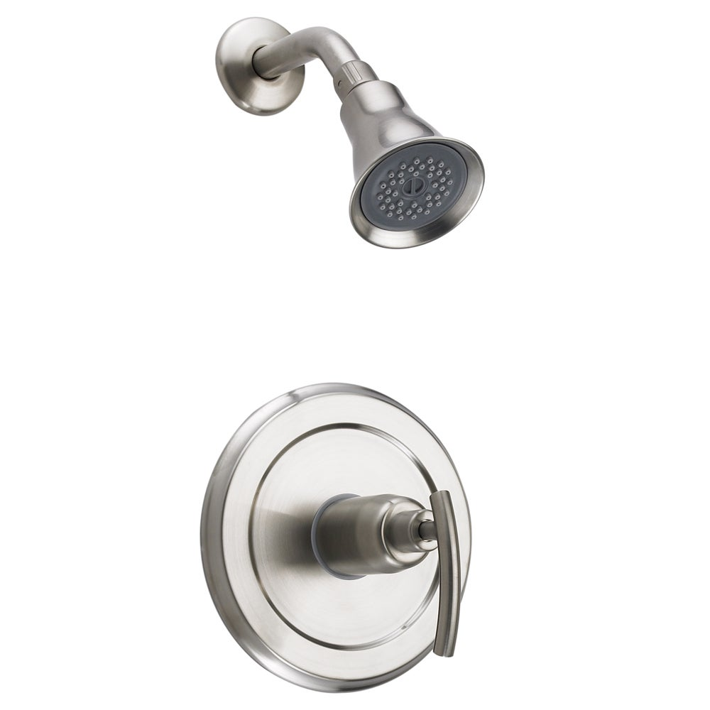 Fontaine Vincennes Brushed Nickel Shower Faucet and Valve Set