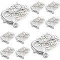 BasAcc 12-millimeter Silver Metal Lobster Clasps for Jewelry (Pack of 500)